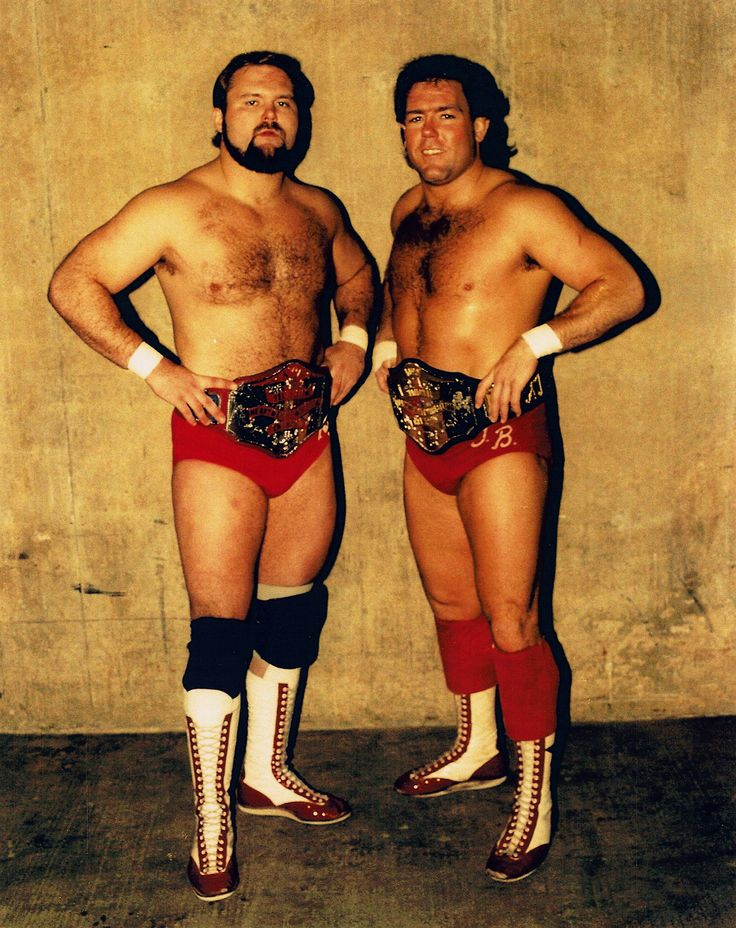 Arn Anderson and Tully Blanchard. The NWA World Heavyweight Tag Team Champions