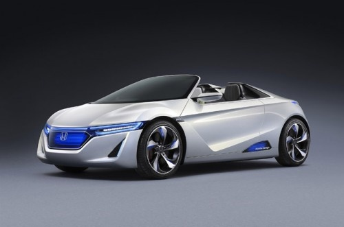 2014 Honda EV-STER Concept Review - Front Side