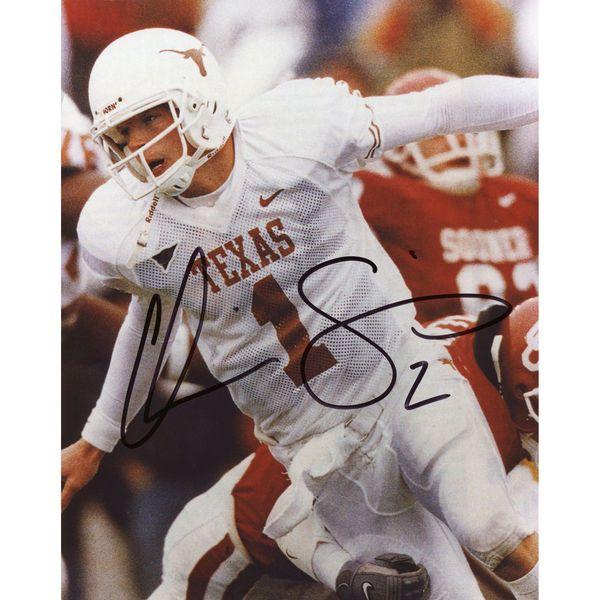 """Chris Simms Texas Longhorns Fanatics Authentic Autographed 8"""" x 10"""" Arms Open Photograph - $19.99"""