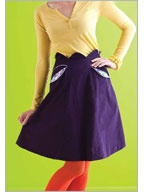 Sew Daily website - lots of free projects and tipsFree Sewing, Diy Sewing, Zip Skirts, Craftdiysew Projects, Zippers Happy Skirts, Skirts Pattern, Zippers Details, Curves Zip, Zippers Skirts