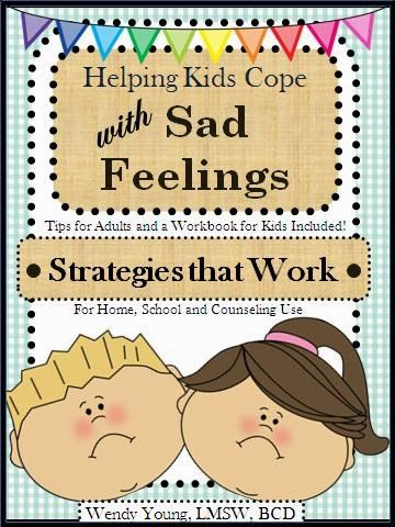 """Kids get sad.  We can help them learn to cope.  Telling them it will """"pass"""" doesn't do kids justice.  RESPECT their feelings!  JUST $5.00 for Intro Special."""