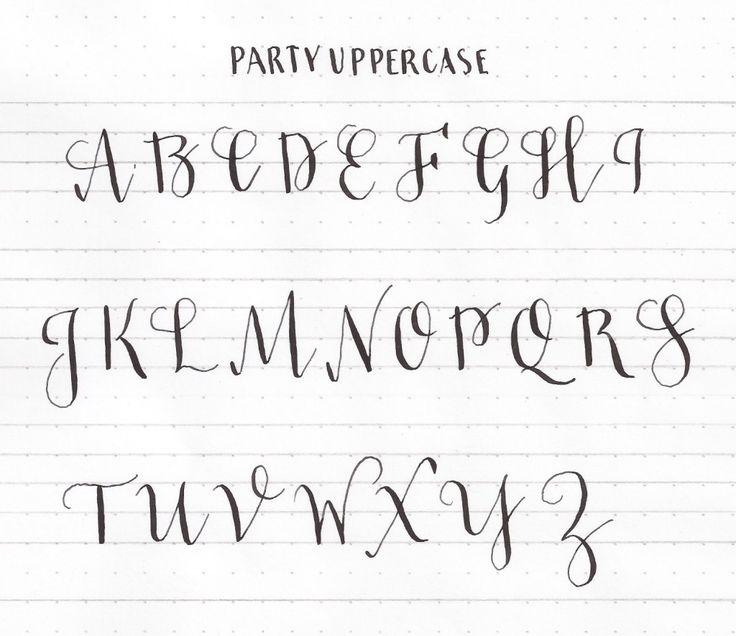 Best 25+ Capital cursive letters ideas on Pinterest