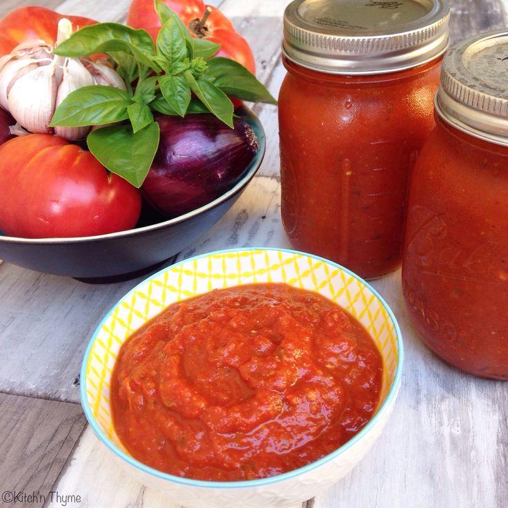 Roast Tomato Pasta Sauce