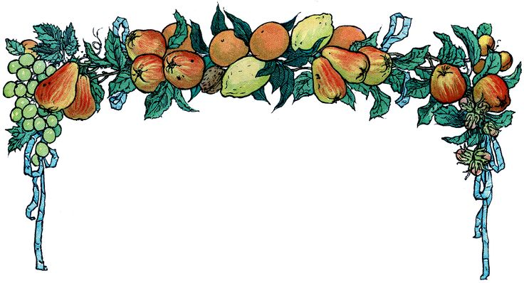 The Graphics Fairy: fruit garland: