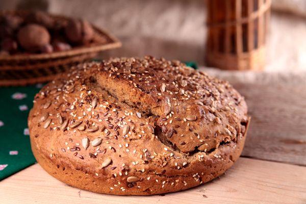 Хлеб без дрожжей, на разрыхлителе