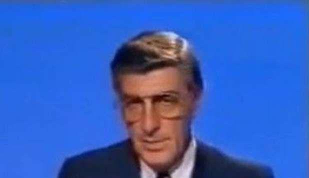 Germano Mosconi:famosissimo giornalista e conduttore tv sportivo degli anni '90,famoso soprattutto per le sue bestemmie e parolacce in diretta