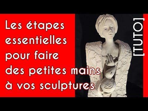 sculpture moine ZEN argile sans cuisson timelapse Pottery video sculpture clay - YouTube