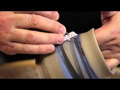 ▶   Chris Snedden Pottery - YouTube              Slip Transfer  WOW!