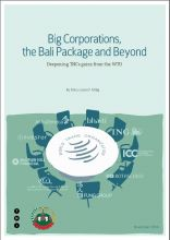 Corporate Power   Big Corporations, the Bali Package and Beyond