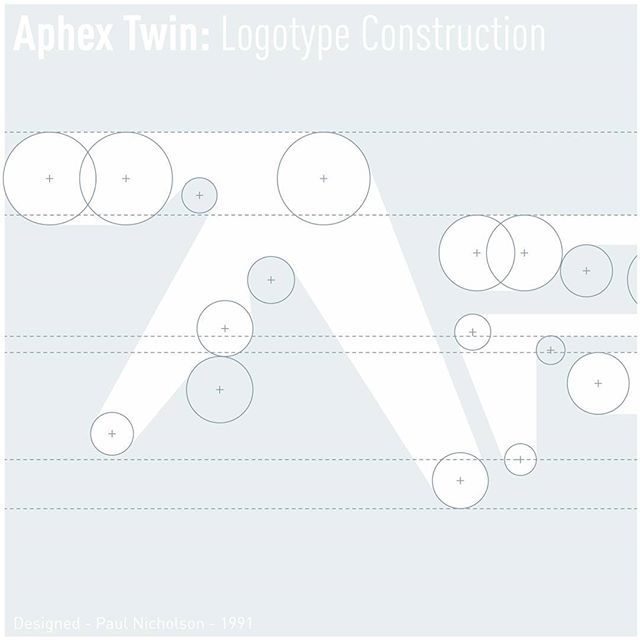 NUMBER 3 presents THE CURVES OF APHEX TWIN LOGOTYPE  More sexy curves than a box full of Jennifer Lawrence, Megan Fox and Scarlett Johansson.  It is exactly 25 years since the release of Selected Ambient Works - February 12th 1992. Designed by Paul Nicholson, 1991.  Number 3 -www.number3.co  #Aphex #AphexTwin #SelectedAmbientWorks #R&S #Logo #LogoDesign #Logotype #Branding #GraphicArt #GraphicDesign #CreativeConsultant #Number3 #3#III