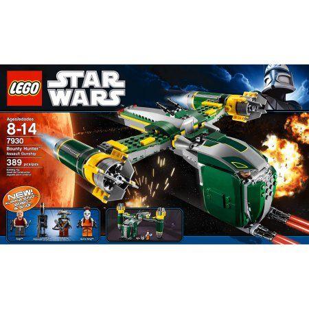 Lego Star Wars: Bounty Hunter Assault Gunship, Multicolor