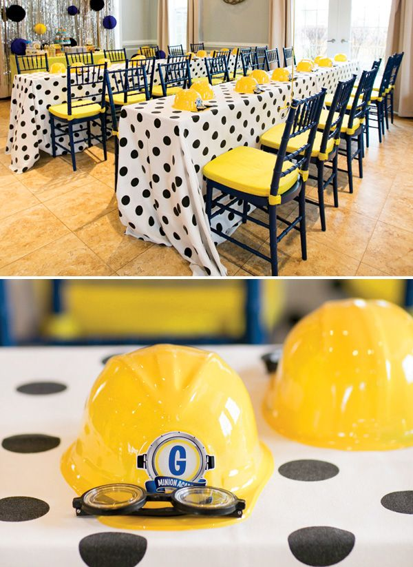 Fantastic Minion Academy Third Birthday Party // Hostess with the Mostess®