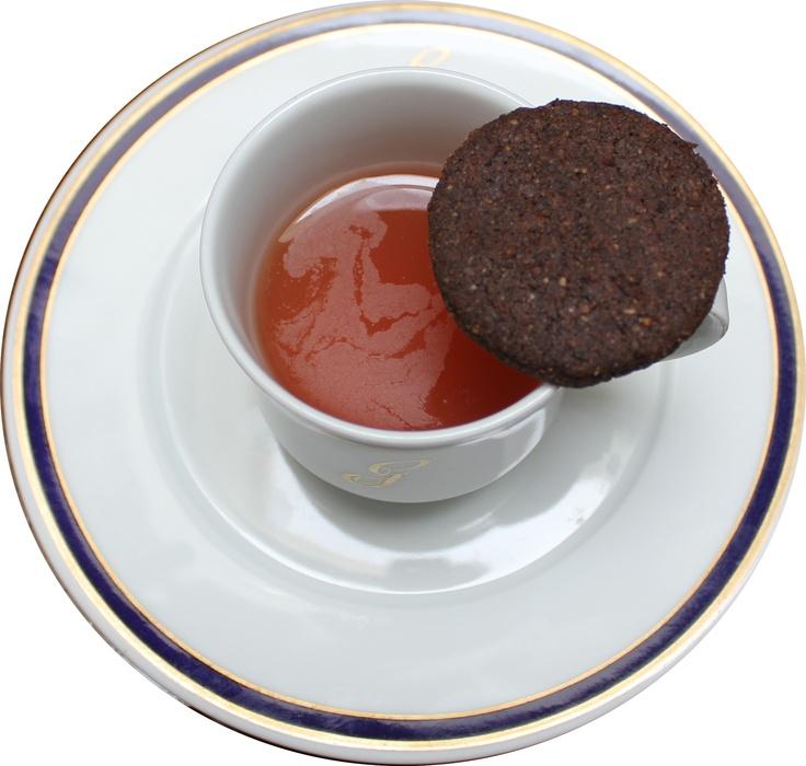 Marcos Morán, Rest. Casa Gerardo, 1*Michelin – 3 Soles Repsol. Encuentra la receta en http://bit.ly/slRXu7