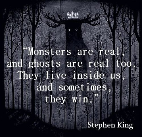 "Stephen King...my hero! I'll never get tired of reading ""The Stand"""