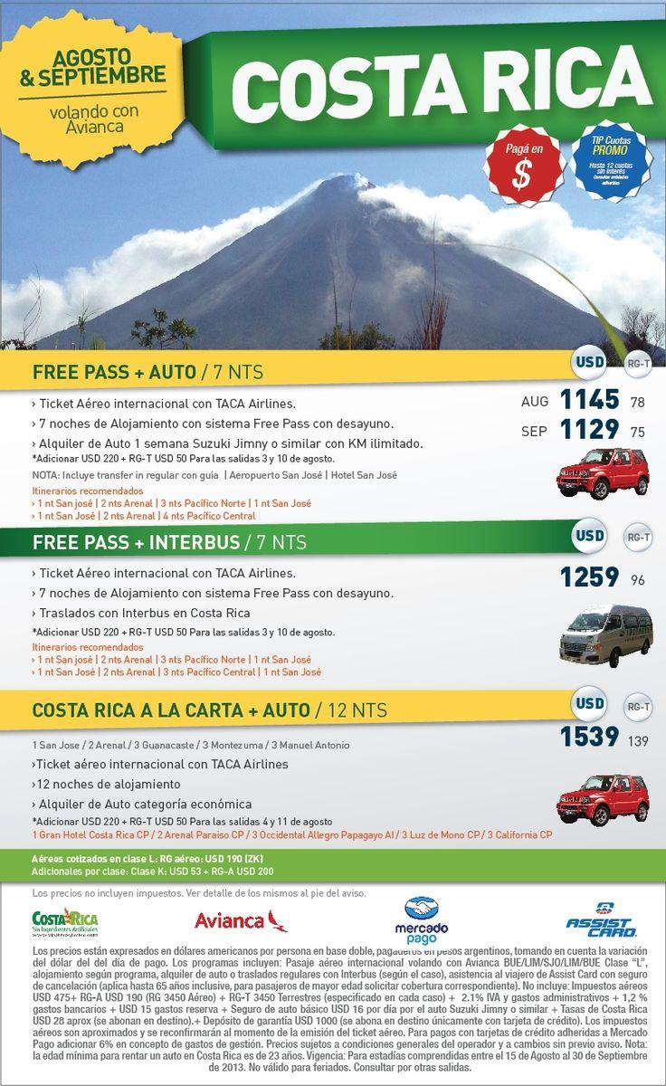 COSTA RICA ! CONOCE UN LUGAR INCREIBLE !