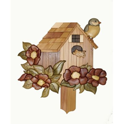 Garden Home Intarsia Pattern                                                                                                                                                                                 More