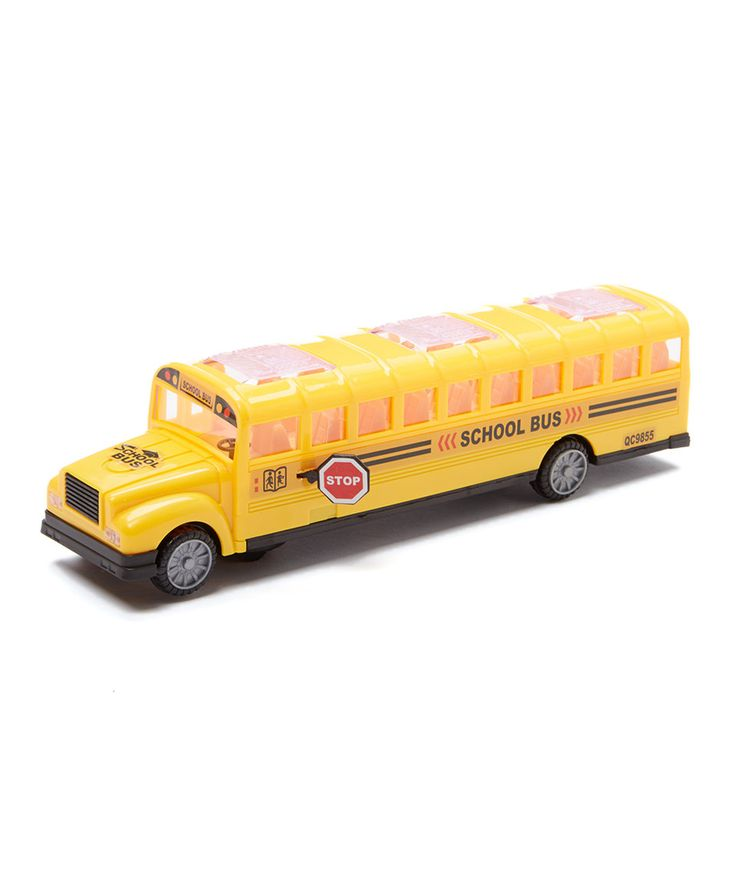 Take a look at this Bump & Go Toy School Bus today!