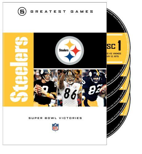 Pittsburgh Steelers Super Bowl DVD