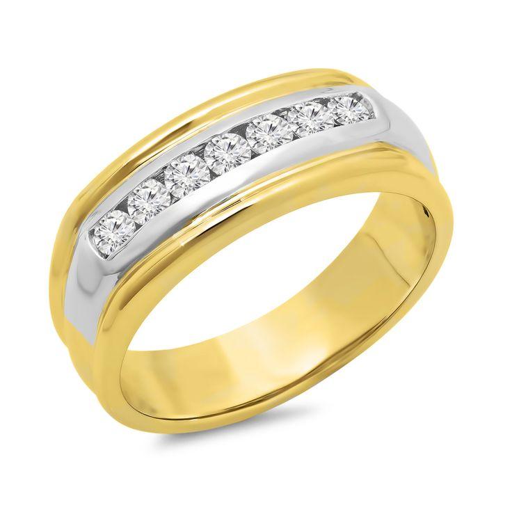 Jewelers Enterprise - Mens Diamond Ring .70 ct. tw., $1,479.99 (http://www.jewelersenterprise.com/mens-diamond-ring-70-ct-tw/)