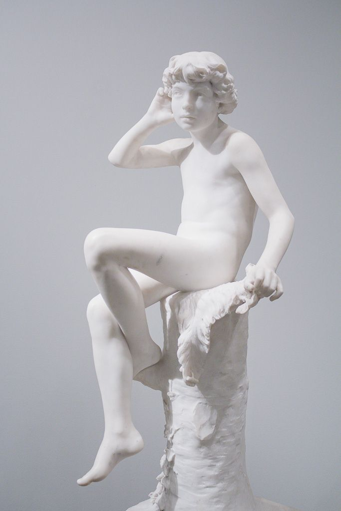 Helsinki, January 2015  Ateneum Art Museum  Ville Vallgren: Echo (1887)