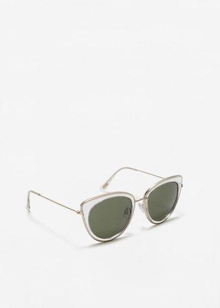Retro style sunglasses -  Woman | MANGO Lithuania