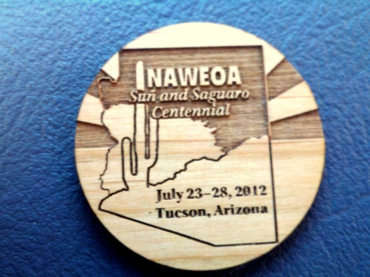 Laser engraved coins for your events