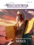 """""""WHAT WE LEARN FROM MOSES"""" -- Four articles consider  the following topics: 'Who Was Moses?' 'MOSES—A MAN OF FAITH,' 'MOSES—A MAN OF HUMILITY,' 'MOSES—A MAN OF LOVE.' You can read and/or listen to this information online. You can also download your free copy to read in PDF or EPUB, or to listen in MP3 or AAC."""
