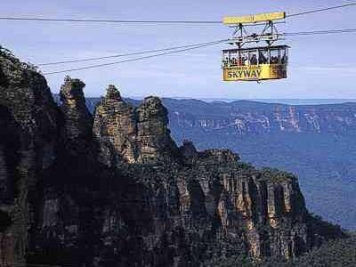 Blue Mountains ,  Katoomba ..Scenic Skyway cable car