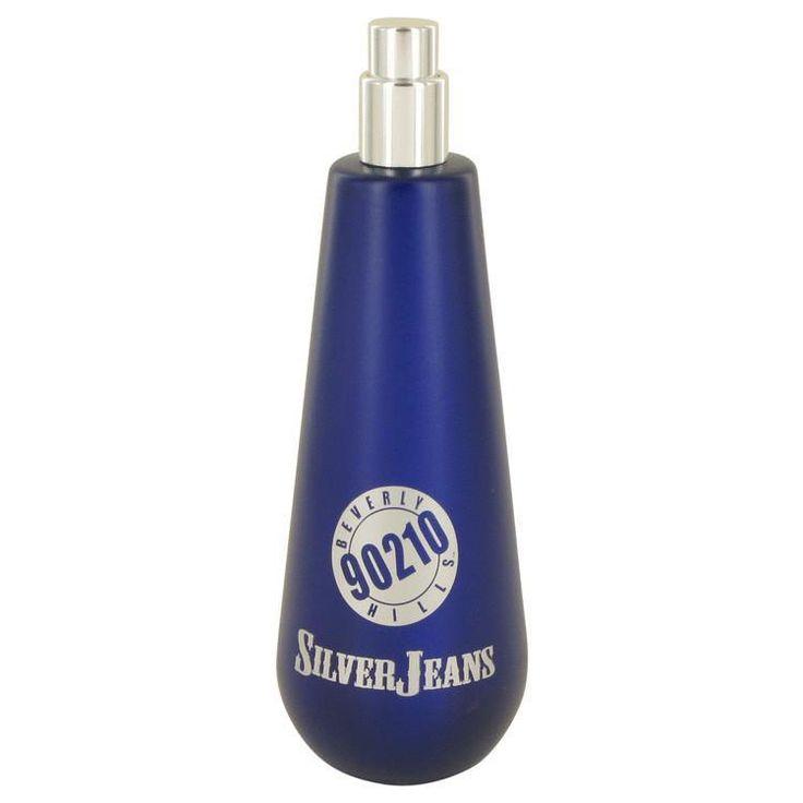 90210 Silver Jeans by Torand Eau De Toilette Spray (Tester) 3.4 oz