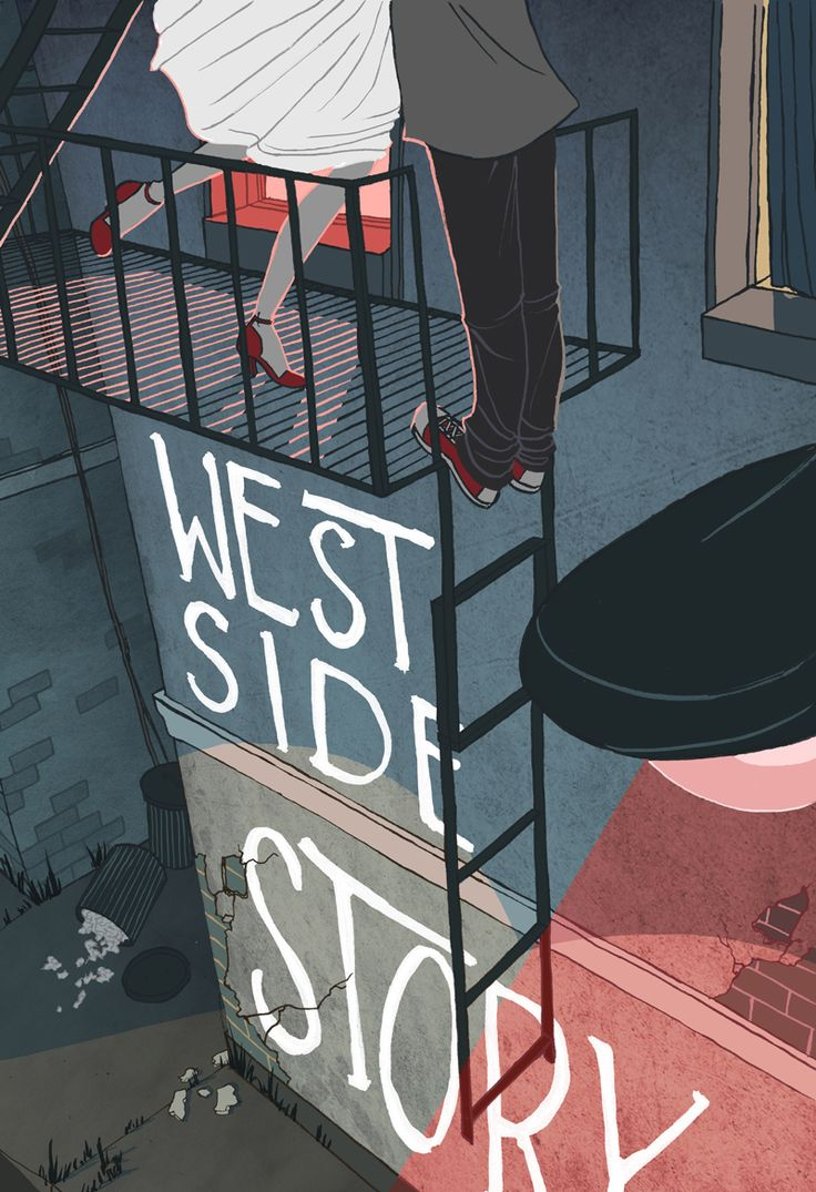 Poster design for West Side Story - bonnynotion