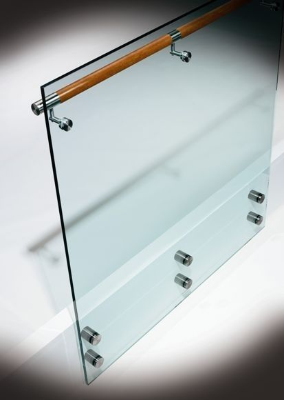 glass railing OPTIK HDI Railing Systems