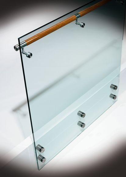 glass railing OPTIK HDI Railing Systems