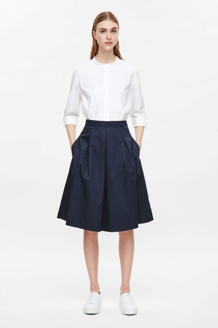 COS | Flared cotton skirt