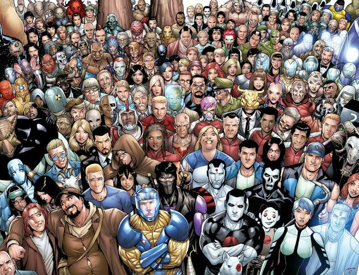Valiant Comic Universe