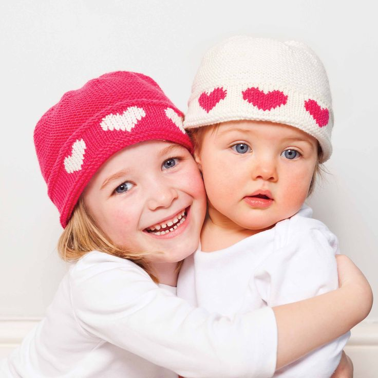 FREE BABY HAT PATTERN FOR VALENTINES DAY Knit Hats - Fair Isles/Strand...