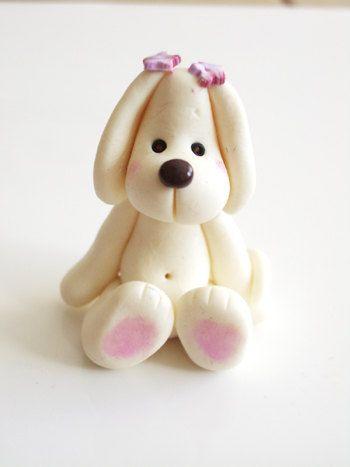 Polymer clay doggy