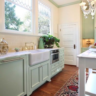 Green Kitchens Design Window Than Interiors Design Cabinets Color