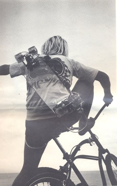 skate | bike | bmx | old school | beach | waves | skating | skater | grom | surf | cycle | 1970's