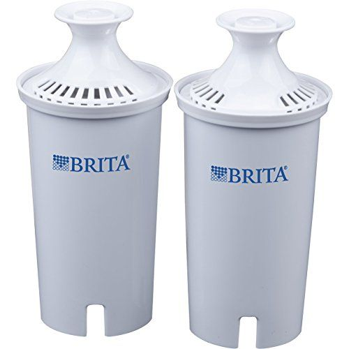 Keep tap water healthier and tasting better when you regularly change your Brita replacement filter. Made to fit all Brita pitchers and dispensers, this replacement filter reduces copper, mercury and cadmium impurities that can adversely affect your health over time, while cutting chlorine taste... - http://kitchen-dining.bestselleroutlet.net/product-review-for-brita-replacement-water-filter-for-pitchers-2-count/