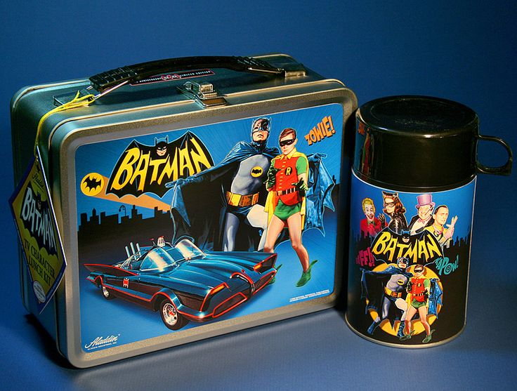 Limited edition lunchbox inspired by the 1966 Batman television series.