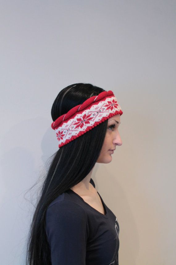 Wool Headband Earwarmer headwrap by LanaNere on Etsy