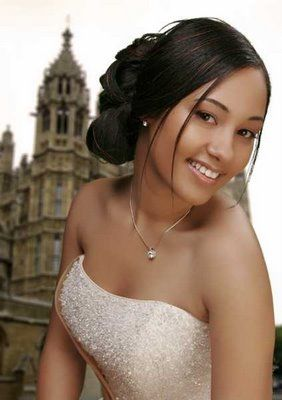 African American Wedding Hairstyles & Hairdos: More Sleek Updos for Black Weddings