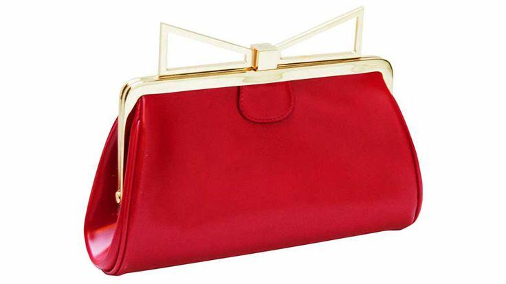 10 Statement-Making Holiday Bags. Sara Battaglia clutch, $880