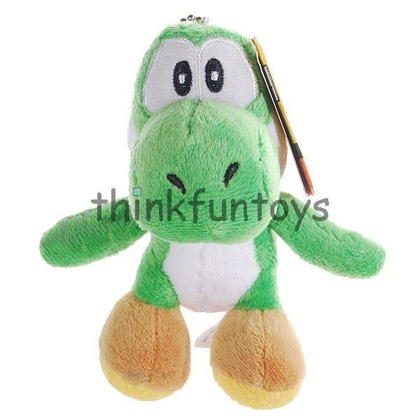 Super cute Yoshi plush doll can now be with you on your set of keys. Take Yoshi everywhere you go. The Super Mario Yoshi Plush Doll Keychain is a must have for Mario Yoshi fans. Makes a great gift!: Yoshi Plush, Great Gifts, Super Mario, Plush Dolls