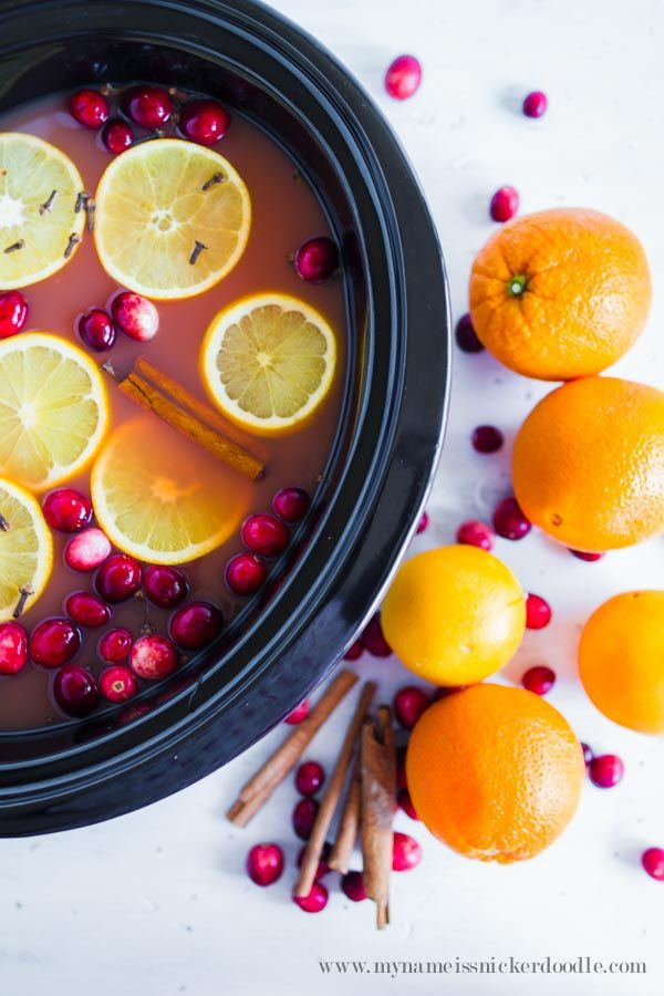 Making and serving your holiday wassail in a slow cooker is the perfect solution. It is delicious and it keeps it warm and ready to serve.