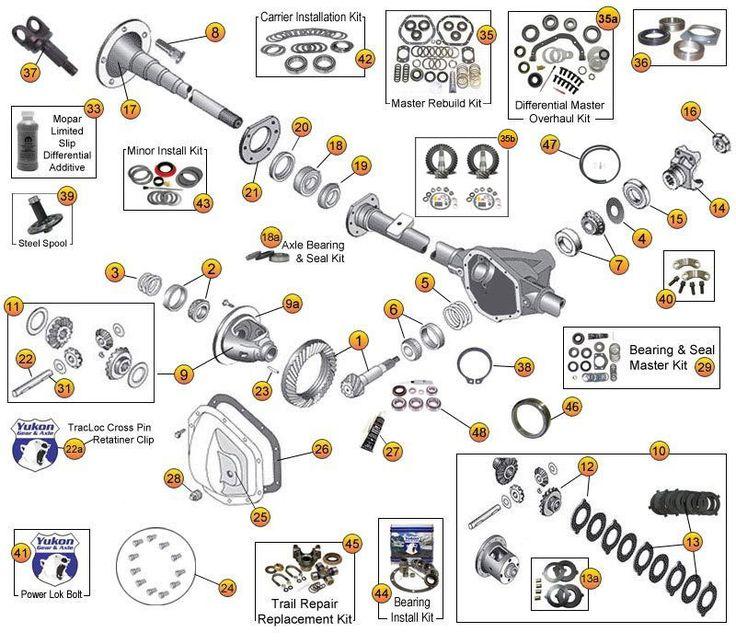 21 best Jeep TJ Unlimited Parts Diagrams images on Pinterest
