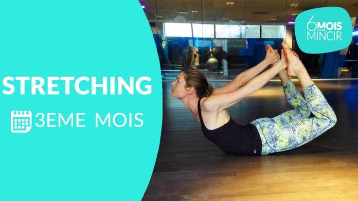 Pour le 3 ème  mois du programme «   6 mois pour mincir   », Lucile Woodward, coach sportif, vous propose une séance de stretching pour le dos! Munissez-vous d'un tapis et détendez-vous avec ces exercices inspirés du yoga.  >> Vous pouvez pratiquer cette séance plusieurs fois par semaine, mais toujours espacée de vos entraînements de cardio et de renforcement musculaire. Retrouvez toutes les autres séances en vidéo:     Vidéos du 1 er  mois:  Cardio  –  Renfo  –  Stretching     Vidéos…