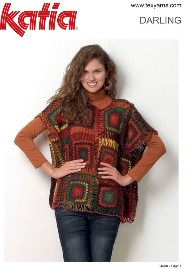 Found this hand knitted yarn at http://www.texyarns.com/darling-crochet-motif-top/