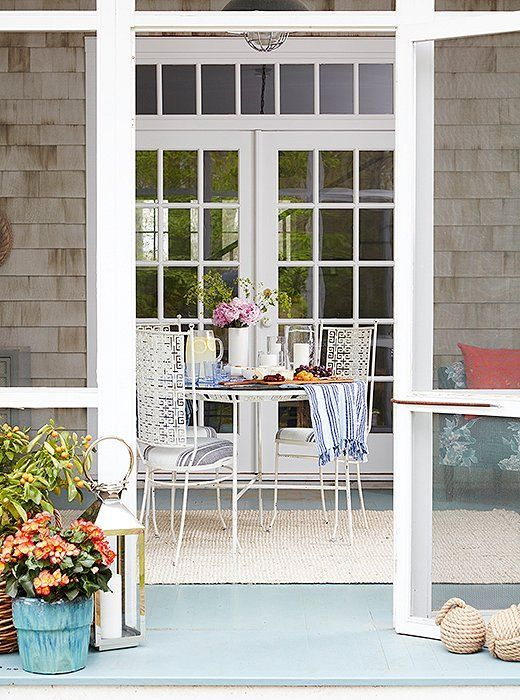 stylist and luxury decorative door stoppers. Inside Estee Stanley s Vibrant and Preppy Hamptons Porch Makeover  Door StopperPotted 402 best Outdoors porches patios images on Pinterest White