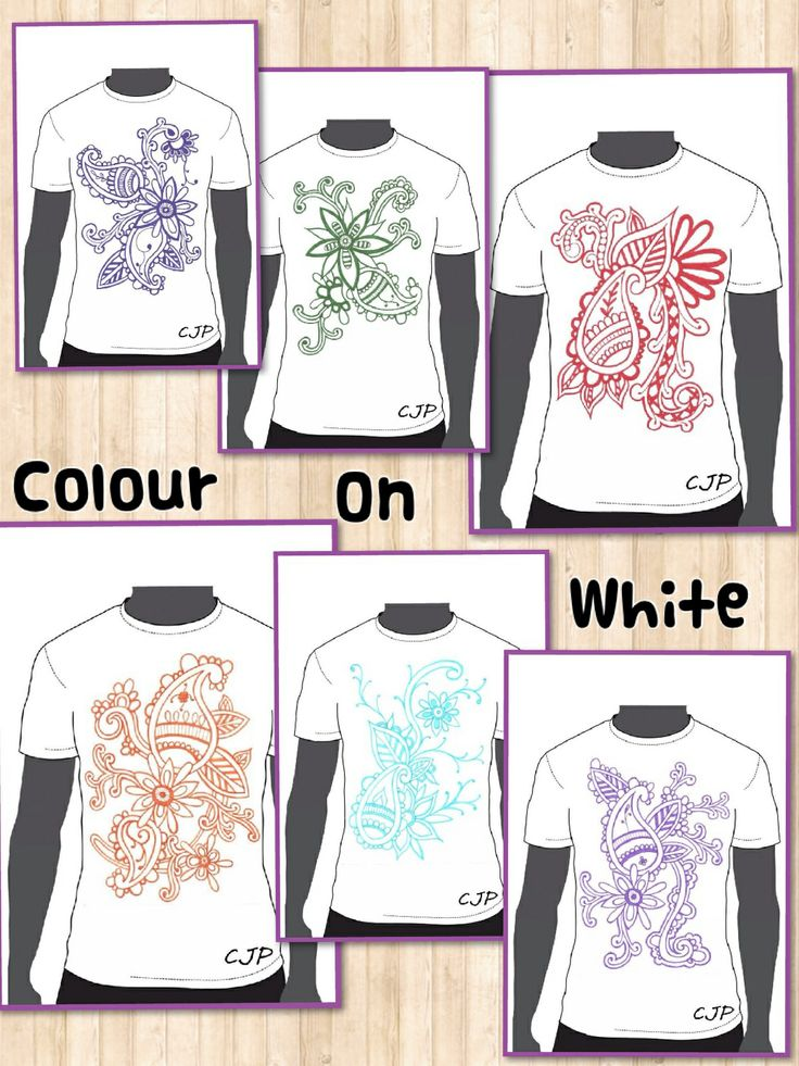 The Colour on White collection...